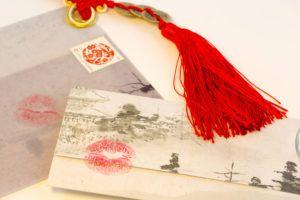 中国の書簡の画像